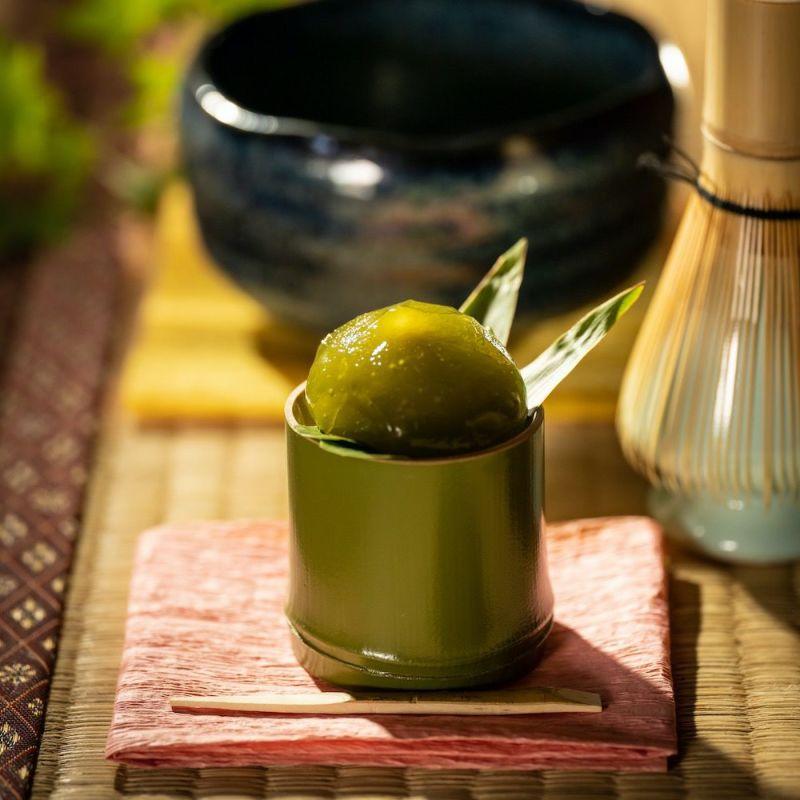 <夏>水きんとん-抹茶-